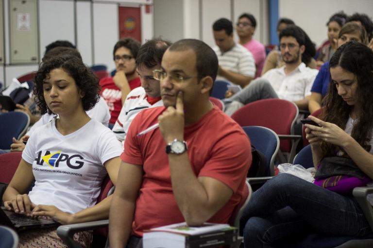 Público durante Reunião da Diretoria Plena da ANPG.